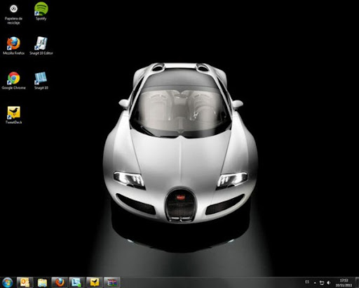 Bugatti Veyron para Windows 7
