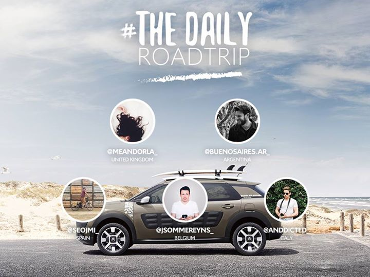 Coming Soon CITROËN X DAILY ROADTRIP Discover 10 Instagramers from around the