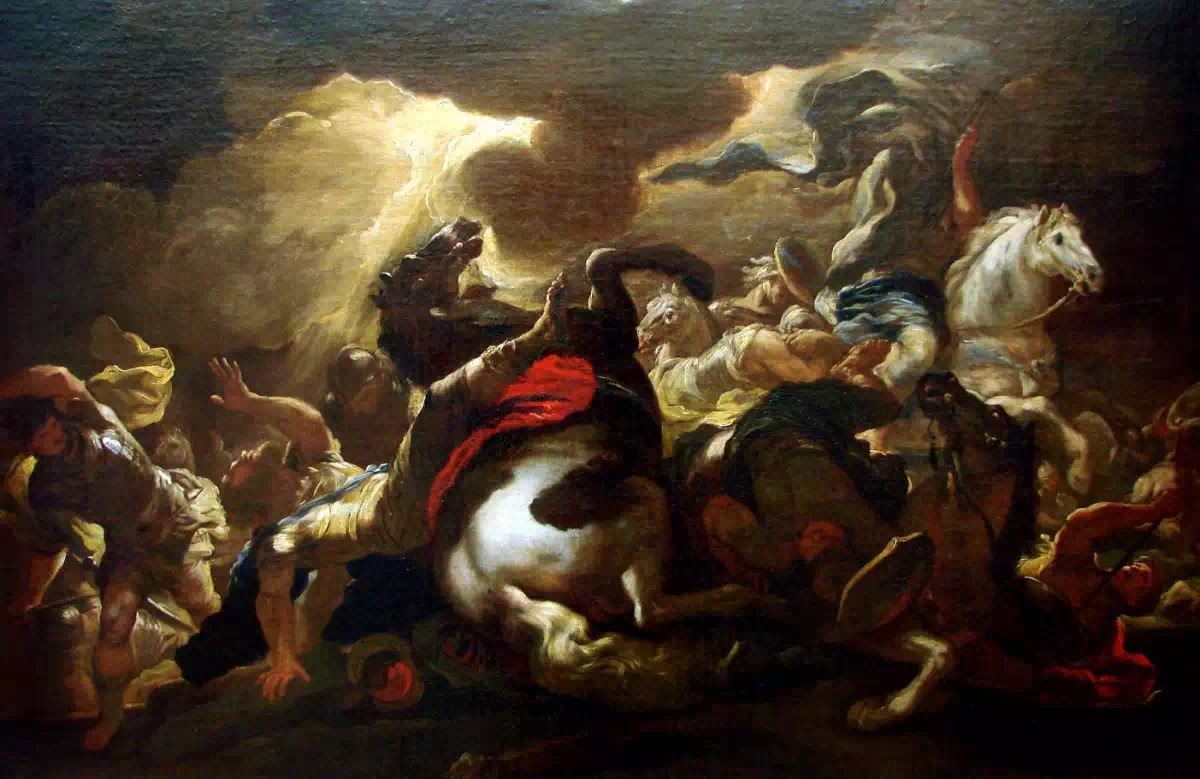 The Conversion of Saint Paul, Luca Giordano, c. 1690,Musée des Beaux-Arts de Nancy