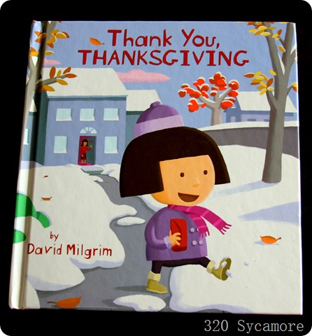 thank you thanksgiving book