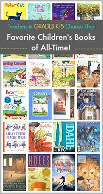 favorite children books recommended by teachers