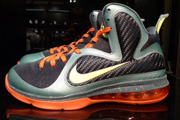 bcc4bb1507 469764-004 Cannon/Volt-Slate Blue-Team Orange. Upcoming Nike LeBron 9  8220Cannon8221 469764004 New Pics ...