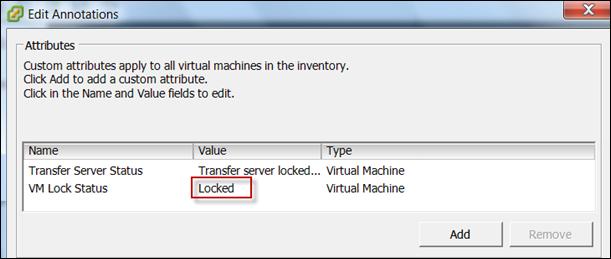 VMware View : Transfer Status LOCKED  | vCloudInfo