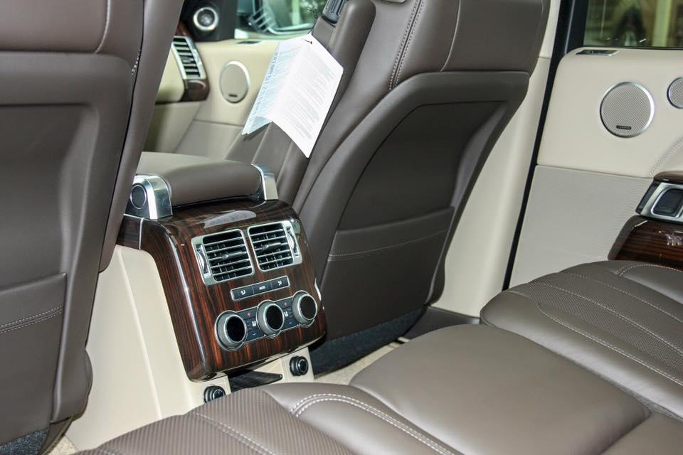 Nội thất xe Range Rover Vogue 012