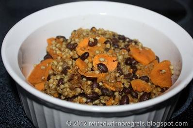 Buckwheat Groats Black Beans & Sweet Potato Pilaf - Dished II