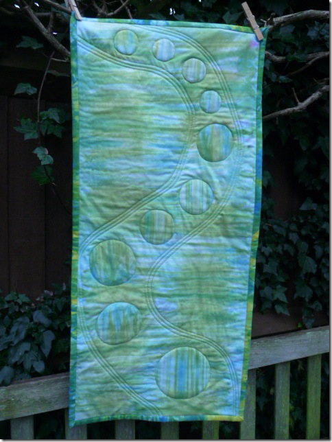 Pole dyeing and table runner 005