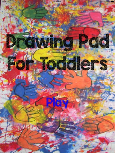 Drawing Pad For Toddlers
