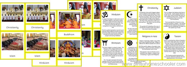 Asia Continent Religions