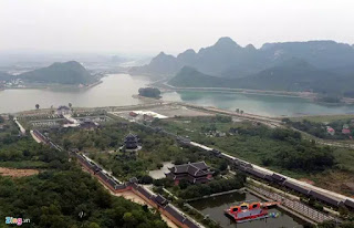 """Chùa Bái Đính của tập đoàn Xuân Trường được coi là """"lớn nhất Đông Nam Á""""."""