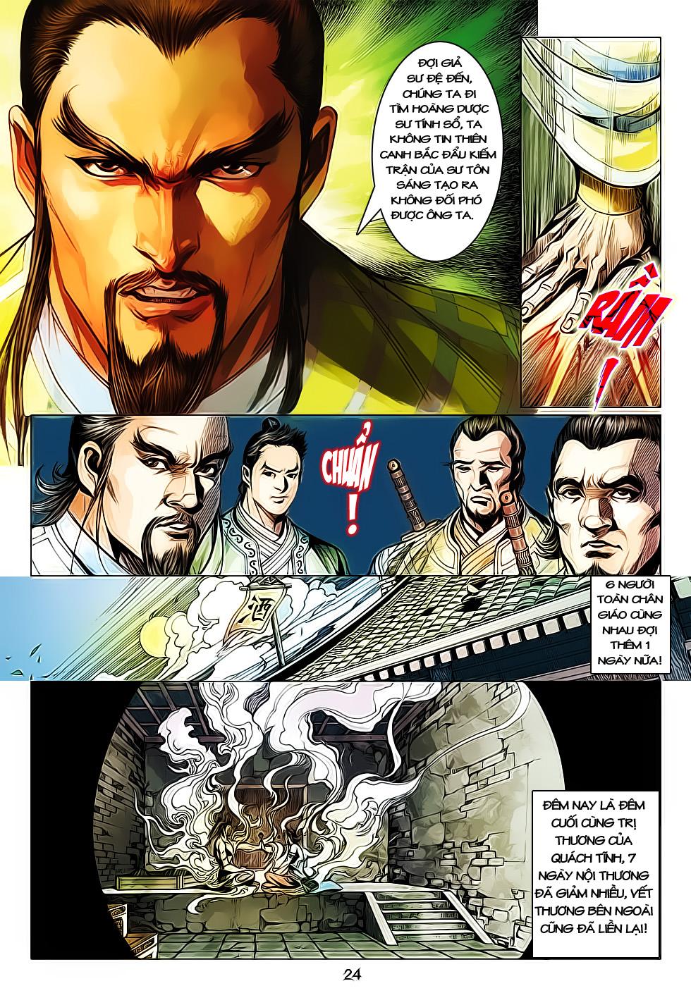 Anh Hùng Xạ Điêu anh hùng xạ đêu chap 61: thất tử chiến thiết thi trang 24