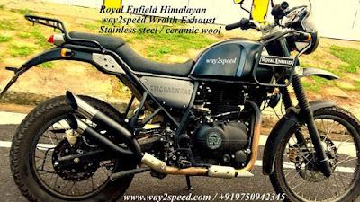 Royal Enfield Himalayan Silencer way2speed Performance Royal Enfield way2speed