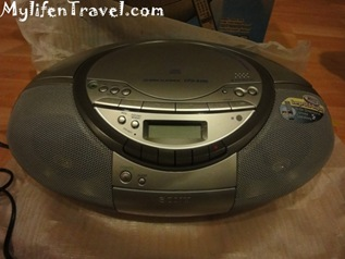 Sony CD player S350 11