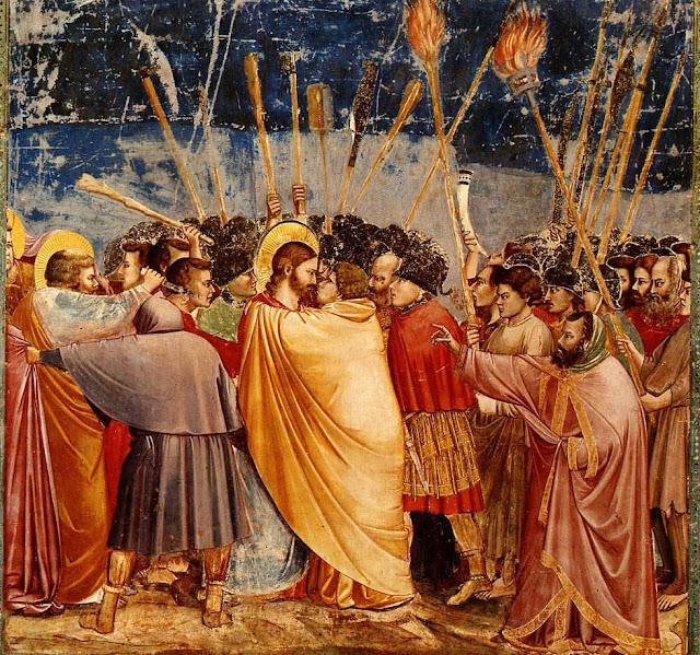 Giotto di Bondone - 21b Prendimiento de Jesús.jpg