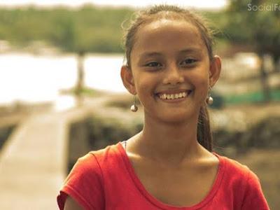 Mới đây cộng đồng mạng Philippines truyền nhau bức ảnh bé gái