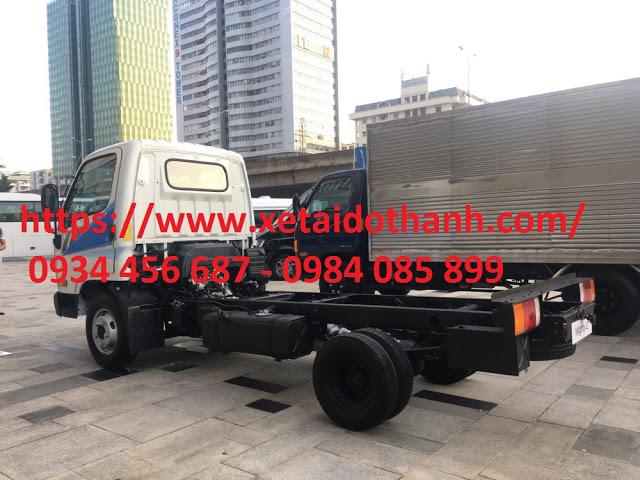 Ngoại thất Hyundai N250 cứng cáp và thẩm mỹ cao