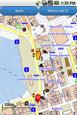 marseille amenities map free android apps on google play. Black Bedroom Furniture Sets. Home Design Ideas
