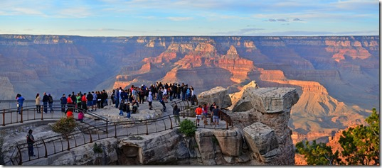 Grand Canyon Mather Point 2 - NPS Public Domain