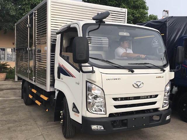 Xe tải IZ65 Đô thành thùng kín 3 lớp chiều dài : 4.310 x 1.940 x 1850 mm