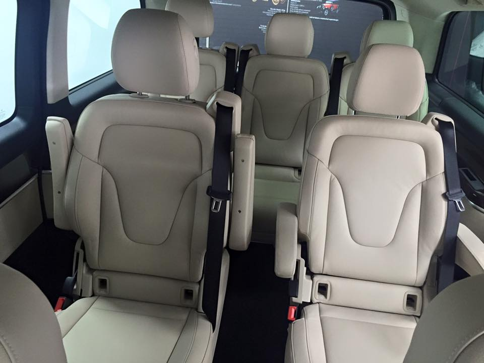 xe Mercedes Benz V220 Máy Dầu 015