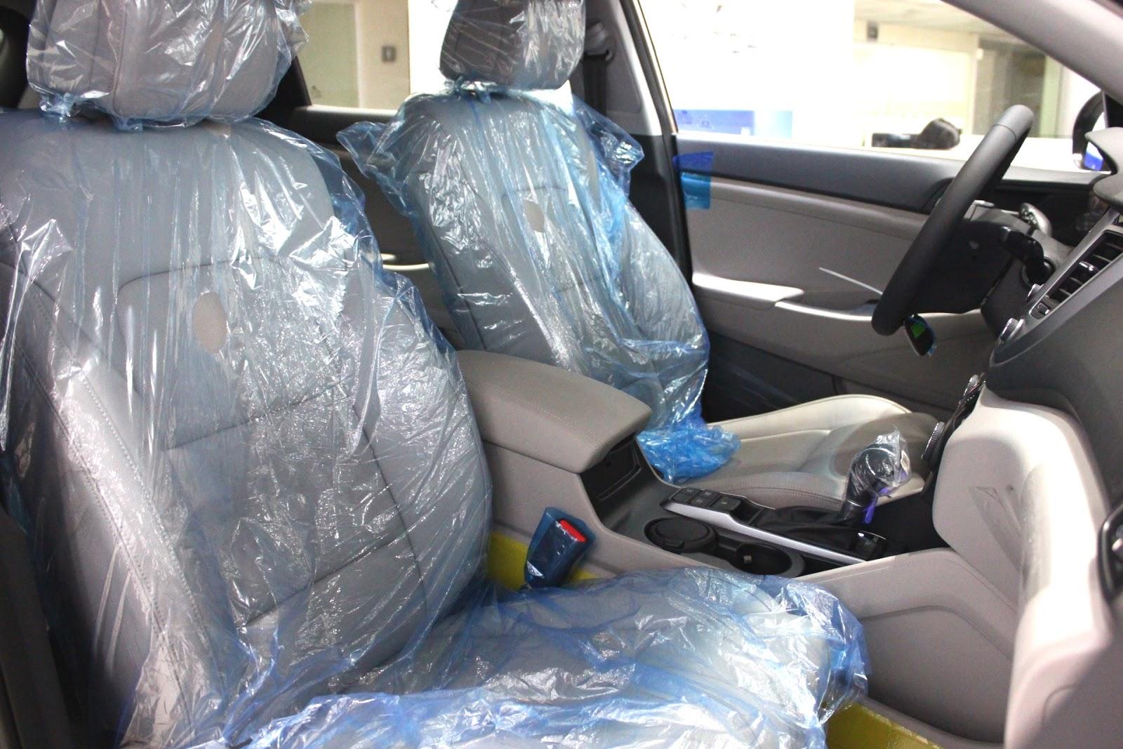Nội thất xe Hyundai Tucson 5 chỗ màu nâu 04