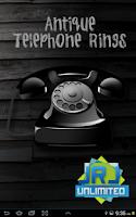 Screenshot of Antique Telephone Rings