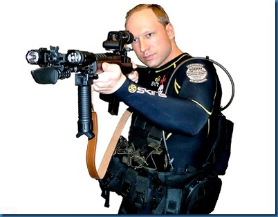 Anders Behring Breivik as assassin