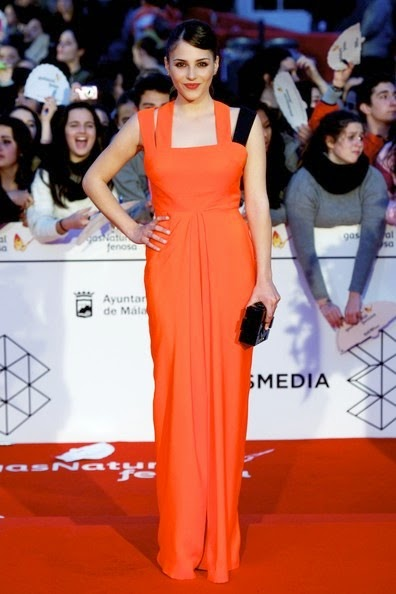 Andrea Duro 17th Malaga Film Festival 2014 Closing Day