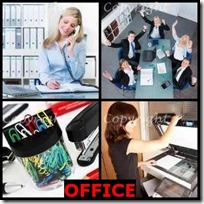 OFFICE- 4 Pics 1 Word Answers 3 Letters