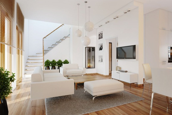 contemporar-living-room-plants