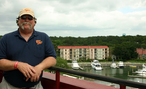 Jim remembers a time when he and his Dad ran yachts from NJ to FL and docked here at Harbour Town Marina in Hilton Head