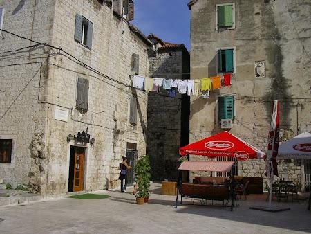 Obective turistice Split: Centrul orasului