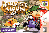 Harvest Moon 64 Capa