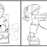 Dibujos Infantiles De Higiene Para Colorear La Higiene En Los Niños