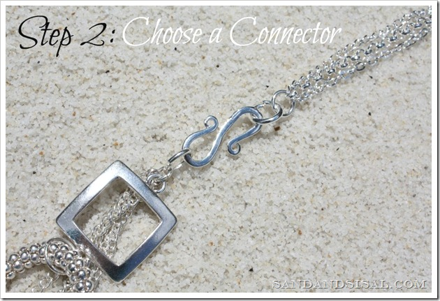 Choose a connector Styled by Tori Spelling step 2