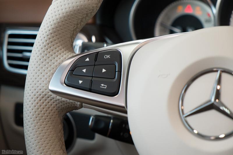 Xe Mercedes Benz CLS500 New Model màu trắng 022