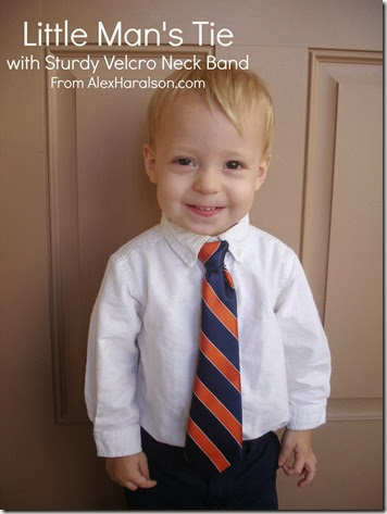 DIY little man tie
