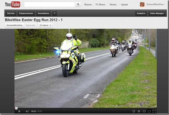 CLICK HERE to view the BikeWise Easter Egg Run Video's