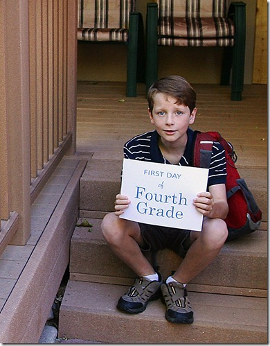 2011_08_23 Aidan's first day of 4th grade web