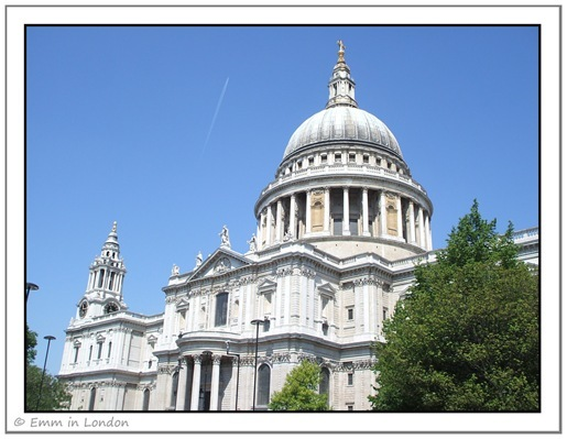 St Paul's Cathedral from the south east
