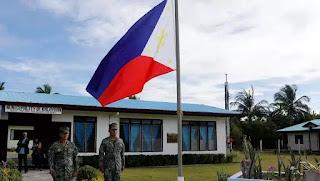 Quân đội Phillipines đóng trên đảo Thị Tứ (Thitu/Pag Asa) mà Việt Nam đòi chủ quyền.