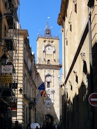 Tour de l'Horloge à Aix-en-Provence