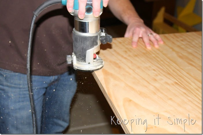 DIY-Dining-Table-With-Burned-Wood-Finish #Bernzomatic (15)