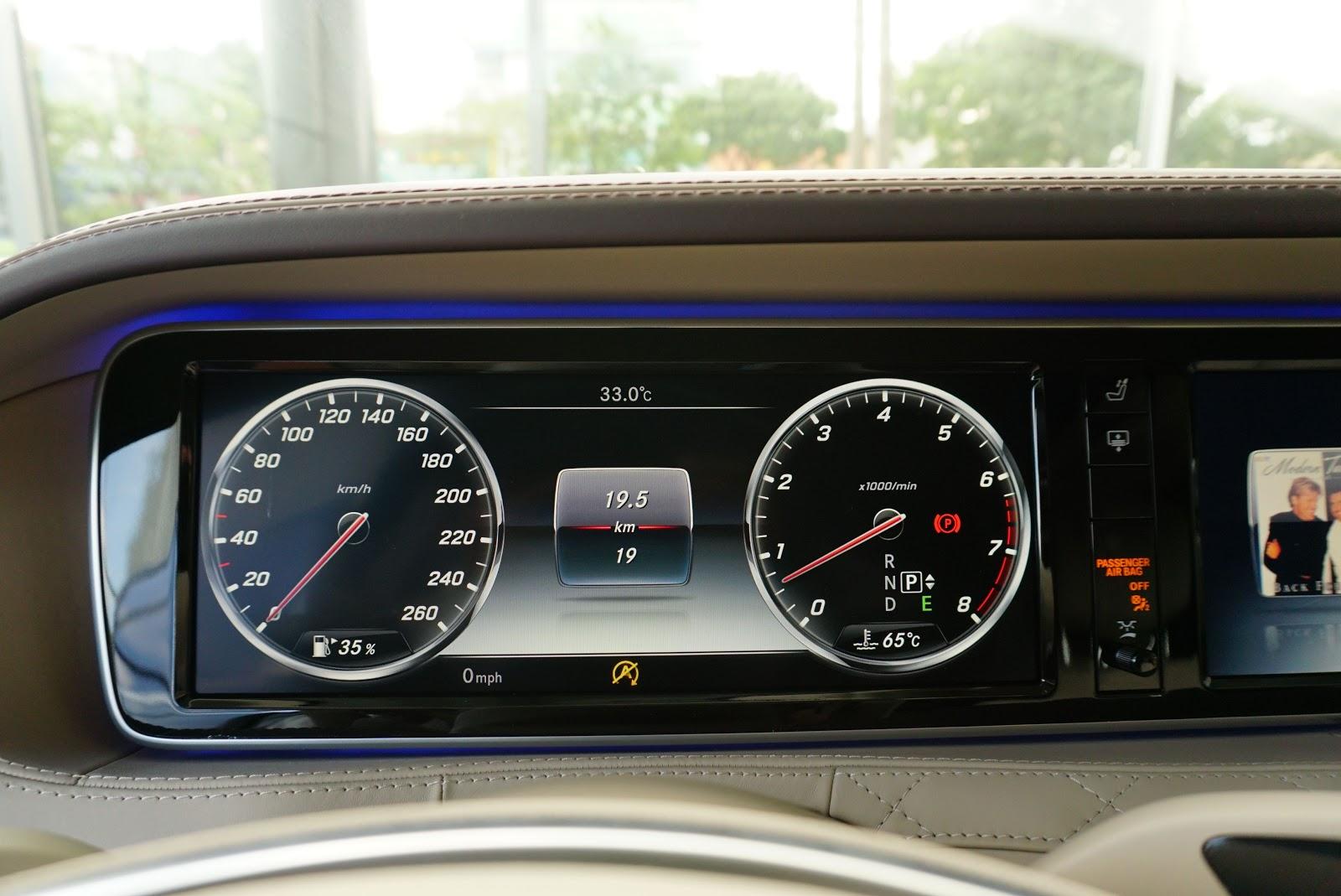 Nội Thất Xe Mercedes Benz S600 MAYBACH Màu Đen 029