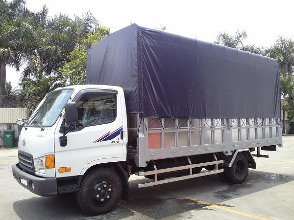 Hyundai 3,5 tấn thùng bạt
