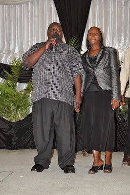 Tanzania gospel singer George Bonge Njabili from the Lulu Choir