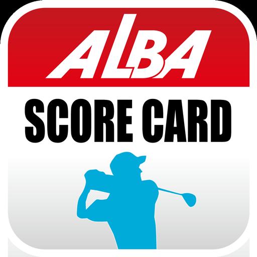 ALBAゴルフスコアカードアプリ 運動 App LOGO-硬是要APP