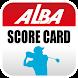 ALBAゴルフスコアカードアプリ