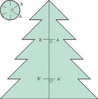 Arbol De Navidad Grande Para Imprimir Madebymcl