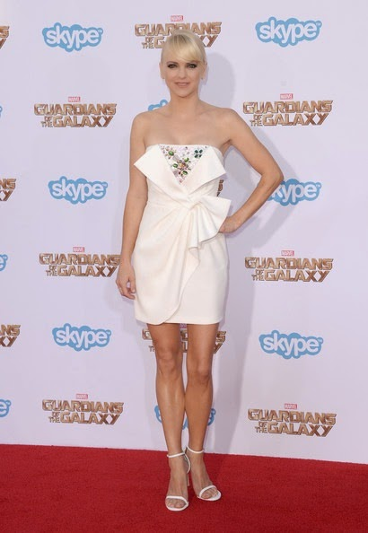 Anna Faris Guardians Galaxy Premieres Hollywood
