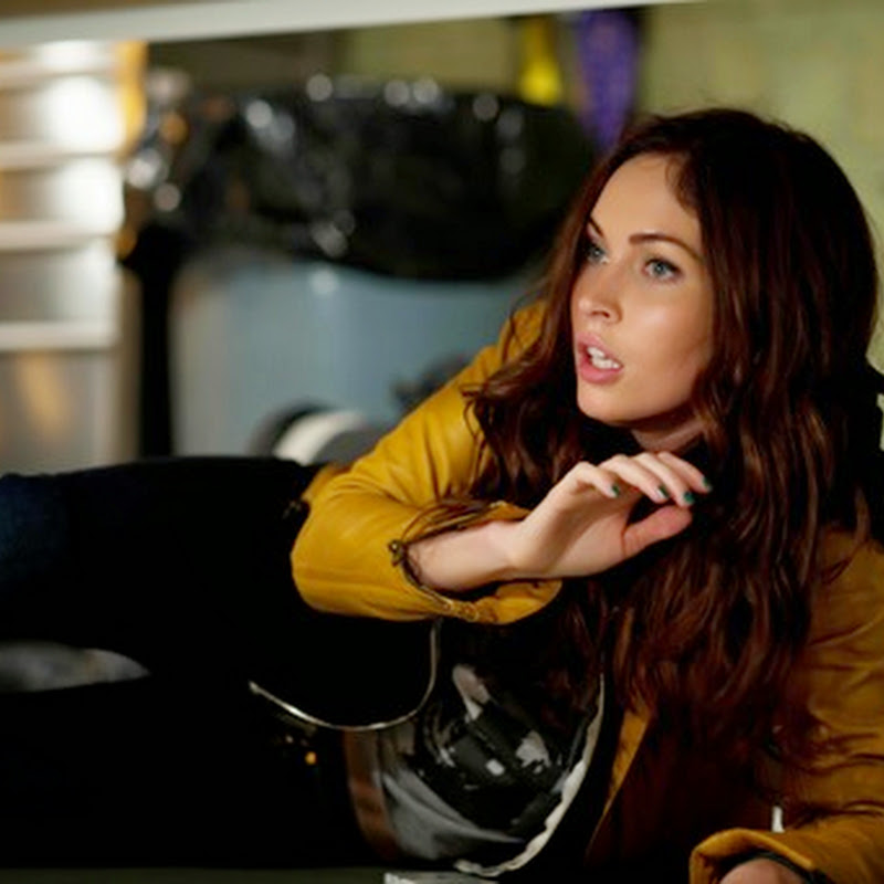 "Megan Fox, in a Heroic Alliance with the ""Teenage Mutant Ninja Turtles"""